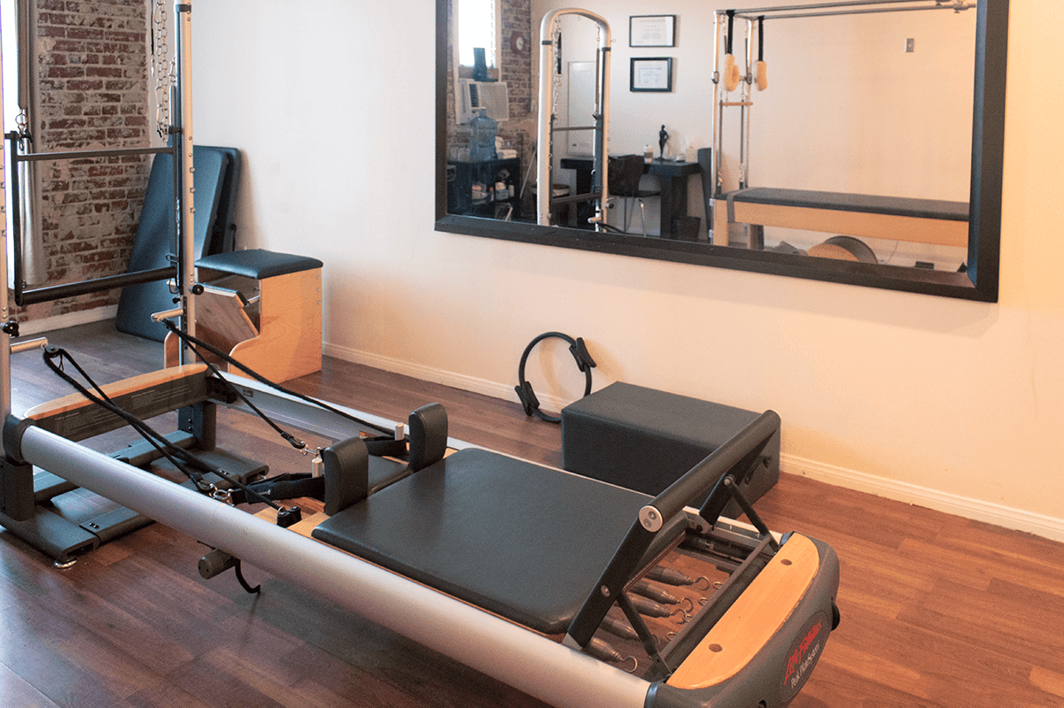 an image of linear pilates studio